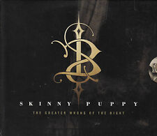 CD ALBUM SKINNY PUPPY / THE GREATER WRONG OF THE RIGHT / DIGIPACK