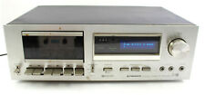 Pioneer Stereo Cassette Tape Deck CT-F600 Dolby System Silver