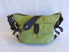 Tasche Spring Green/Brown Leather Hobo - GR8!