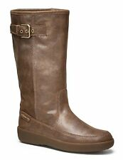 New Coach TANESHA Suede Snow After-Ski Wedge Mid-Calf Boot ~Dark Gold *11