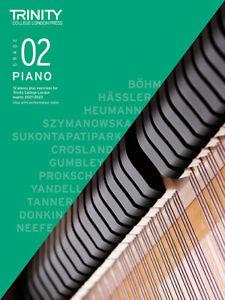 TRINITY PIANO EXAMS 2021-2023 Grade 2 BOOK ONLY