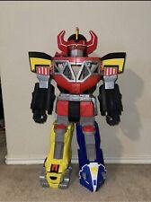 "Imaginext Mighty Morphin Power Rangers Megazord Playset Robot Toy 27"" Tall AA"