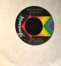 Count Basie And Orchestra Brunswick 55352 Hang On Sloopy and Green Onions