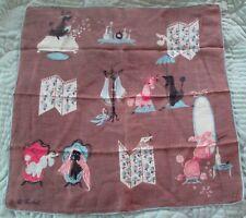 Vintage handkerchief Pat Prichard - Poodles