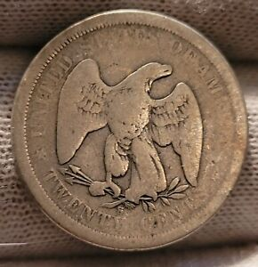 1875 S SEATED LIBERTY TWENTY CENT PIECE