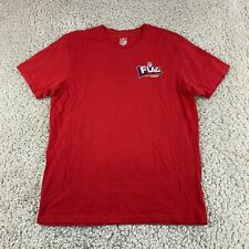 New listing FANATICS NFL Team Apparel Mens T Shirt Medium Red Subway Tee