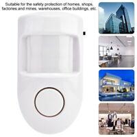 Wireless PIR Motion Sensor Infrared Burglar Security Sensor Detector 110° White
