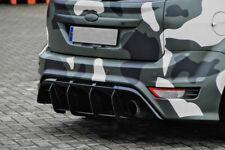 Ford Focus  Rear Bumper Diffuser middle part Valance Skirt Trim extension eleron