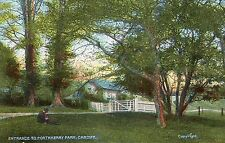 Wales - Cardiff, Entrance to Porthkerry Park - 1900's Star Series Postcard