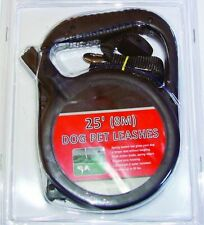 Retractable pet leash Dog Leash 25 Ft. Long Traction Rope, New