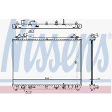 KühlerWasserkühler Motorkühler Autokühler NEU NISSENS 64199