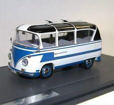 MATRIX Scale Models, VW T1 Auwärter Carlux Bus, 1961-62, blau/weiß, 1/43