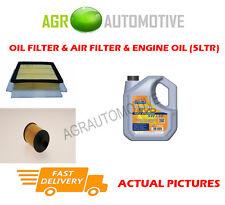 DIESEL OIL AIR FILTER KIT + LL 5W30 OIL FOR VAUXHALL CORSA 1.3 95 BHP 2010-