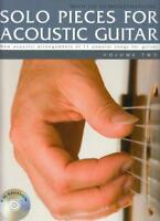 Solo Pieces For Acoustic Guitar Volume Two (Book & Cd) Gtr Book/Cd by Various, N