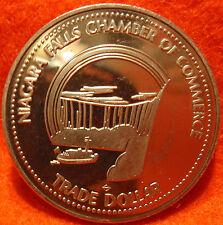1977 Canada Trade Dollar NIAGRA FALLS  Uncirculated