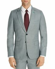 Paul Smith Mens Soho Fit Suit Separate Super 140's Wool Sportcoat 42R