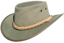 Canvas Hat Safari Aussie Style hat Crafted in South Africa