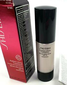ShiseidoRadiant Lifting Foundation SPF17 B100 Very Deep Beige 1.2oz 30ml
