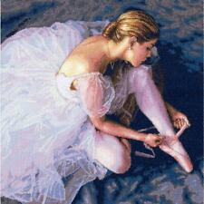 """Dimensions Gold Collection Counted Cross Stitch Kit Ballerina Beauty 14""""X14"""" NEW"""