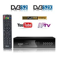 Free Galaxy 19 DVB-S2 Digital Satellite tv Receiver Finder Decoder Wifi Youtube