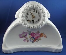 Antique KPM Berlin Art Nouveau Porcelain Clock Porzellan Jugendstil Uhr Watch
