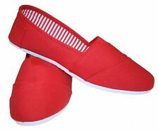 New Canvas Ballet Flats Slip on Espadrille Loafer Women Shoes SPECIAL Only $8.99