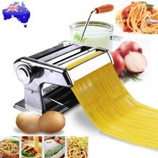 Pasta Noodle Maker Machine Cutter Fresh Spaghetti Roller 6 Thickness Settings AU