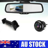 "4.3""Car Rearview Mirror Monitor No1 Mount Reversing Camera For Mitsubishi Lancer"