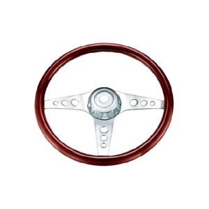 3-Spoke Classic steering wheel  Kenworth,Westernstar,Freightliner,Mack,Eagle