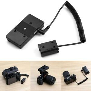 NP-F970 to NP-FW50 Dummy Battery Adapter Mount Plate for Sony DSLR Cameras