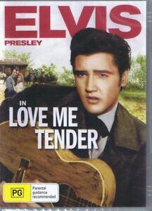 LOVE ME TENDER DVD Starring Elvis Presley NEW & SEALED Free Post