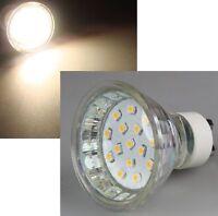 15 SMD LED GU10 Leuchtmittel Lampe Birne Spot 230V warmweiß / kaltweiß