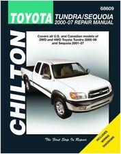 Chilton Toyota Tundra and Sequoia 2000-2007 Repair Manual (68609)