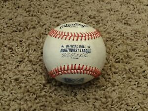 Rawlings Official MINOR LEAGUE Baseball~NORTHWEST LEAGUE~GAME USED
