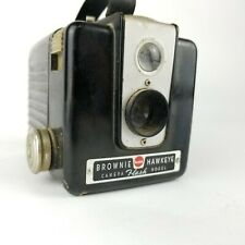 Vintage Kodak Brownie Hawkeye Flash U.S.A Made Box Camera