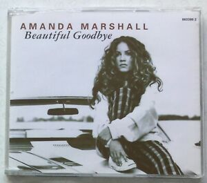 Beautiful Goodbye by Amanda Marshall (1996, Epic, CD single, 3 tracks) near NEW.