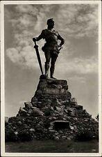 Vangsnes Norwegen Norge Sogn og Fjordane AK ~1930 Statue Frithjof Fridtjof Unger