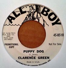CLARENCE GREEN - PUPPY DOG b/w RED LIGHT - ALL BOY - WHITE LBL PROMO 45