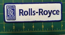"Rolls Royce patch iron on or sew on  Rolls Royce embroidered patch 6"" size"
