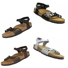 Birkenstock Bali Sandals Shoes Ankle Strap Gladiator Leather Patent Slides Mules