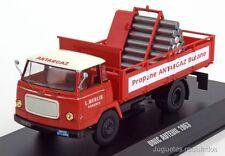 Unic Auteuil transporte gas 1963 - Ixo 1/43