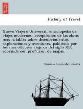 Nuevo Viajero Universal, Enciclopedia de Viajes Modernos, Recopilacion de Las Ob