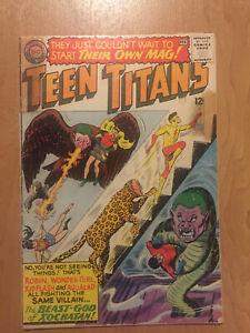 Teen Titans #1 Feb 1966 First Issue Robin Wonder Girl Aqualad Kid Flash DC Comic