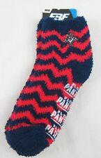 NHL Florida Panthers Medium FBF Sportwear Black Red Fuzzy Soft Socks NWT