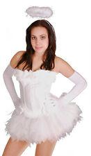 Sexy Angel Costume+Halo Angel Fancy Dress Carnival Halloween Laundry Bags