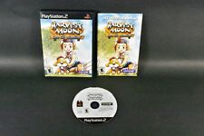 PlayStation 2 PS2 Harvest Moon Save The Homeland Black Label Game WITH BOOKLET