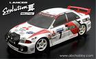 ABC-Hobby 66148 1/10 Mitsubishi Lancer Evolution 3 Rallye Version