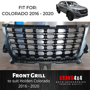 Front Mesh Grill for Holden Colorado / Trailblazer 2016 - 2020 Black Grille