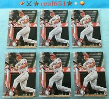 2020 Topps #1 MIKE TROUT Base Lot x 6 Baseball Cards   Los Angeles Angels Batch