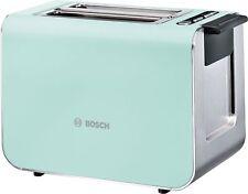Bosch Styline Toaster, Turquoise Mint TAT8612GB